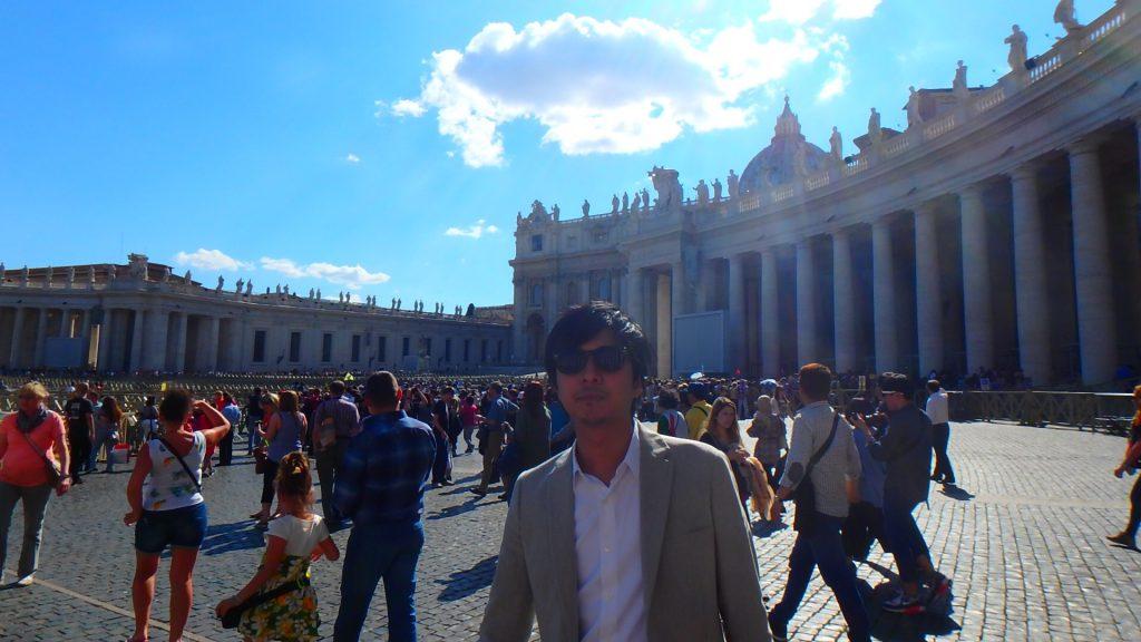 サンタンジェロ城への行き方 バチカン市国から徒歩