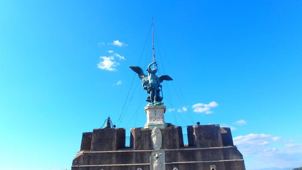 ローマの休日 サンタンジェロ城 聖天使ミカエル