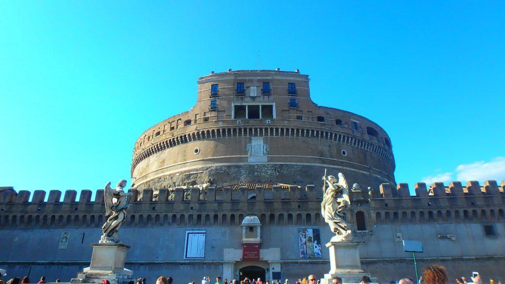 ローマの休日撮影地 サンタンジェロ城への行き方