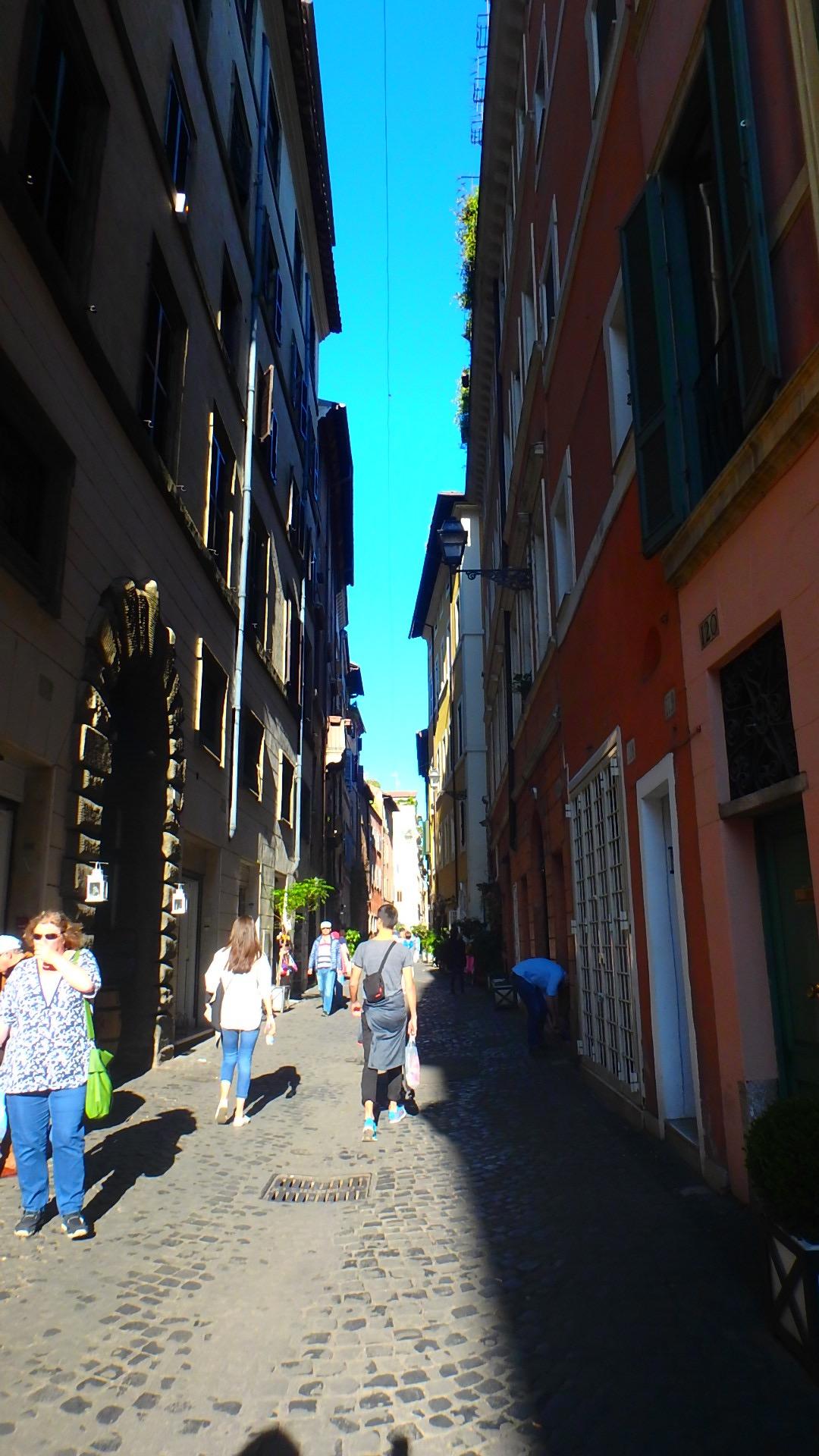 サンタンジェロ城へのアクセス 徒歩でローマ観光