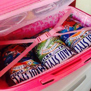 ハワイ旅行 トランク スーツケース 女子