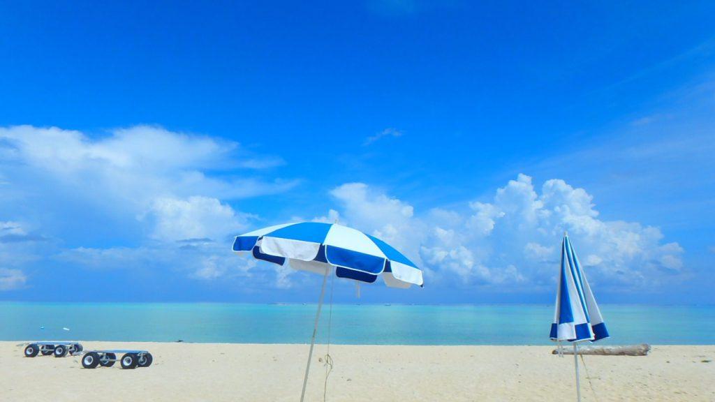 与論島 海水浴におすすめのビーチ 大金久海岸