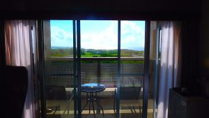 与論島のホテル ヨロン島ビレッジ バルコニー付きの部屋