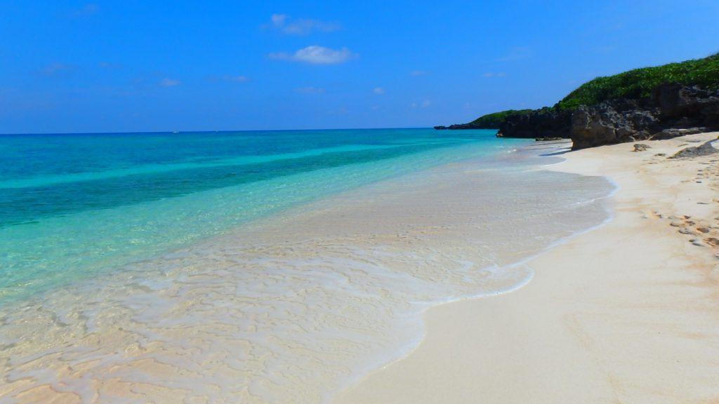 与論島のおすすめ シュノーケリング メーラビビーチ