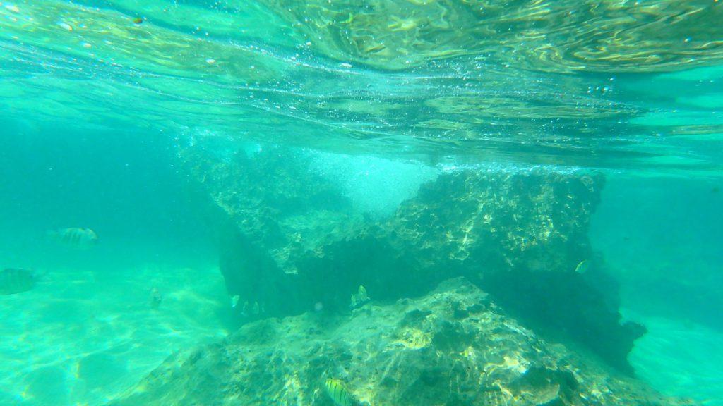 与論島 シュノーケリングにおすすめ メーラビビーチ