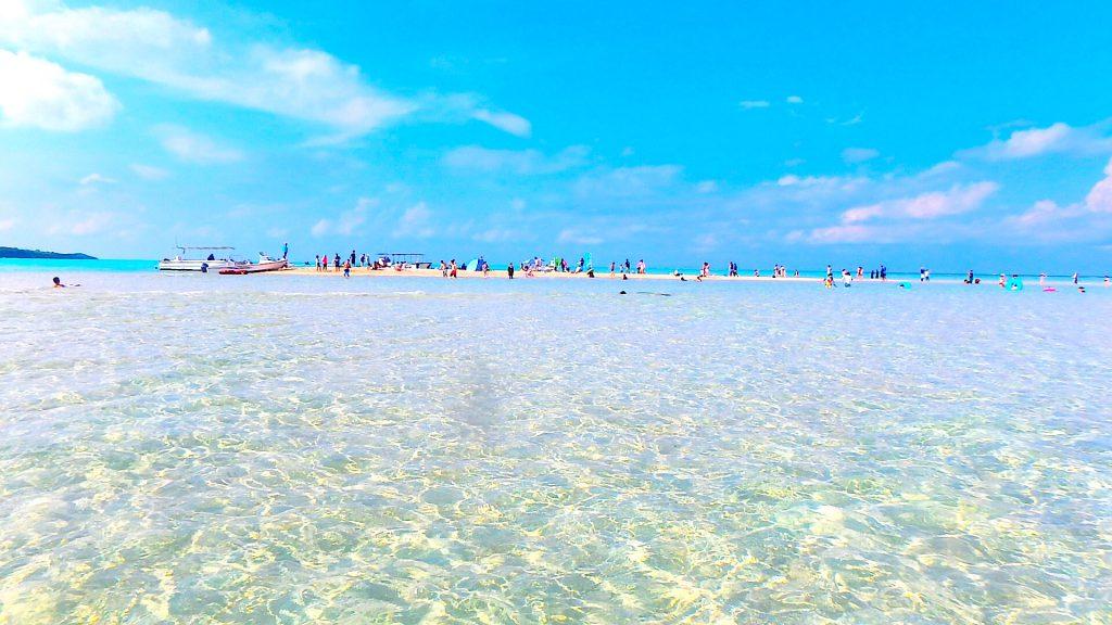 日本の絶景 与論島の百合ヶ浜 行き方と出現時期
