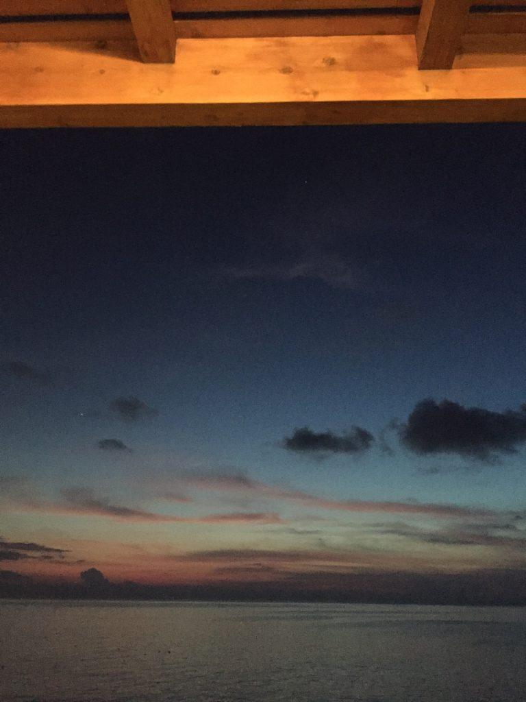 与論島のレストラン Anelia (アネリア) 天の川が見える