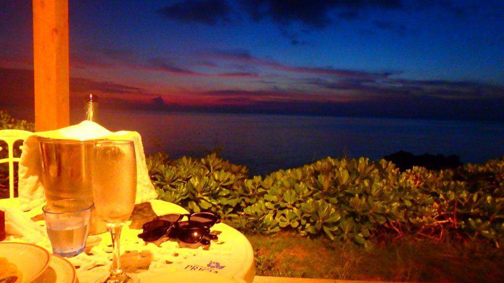 与論島のレストラン Anelia (アネリア) 満天の星空