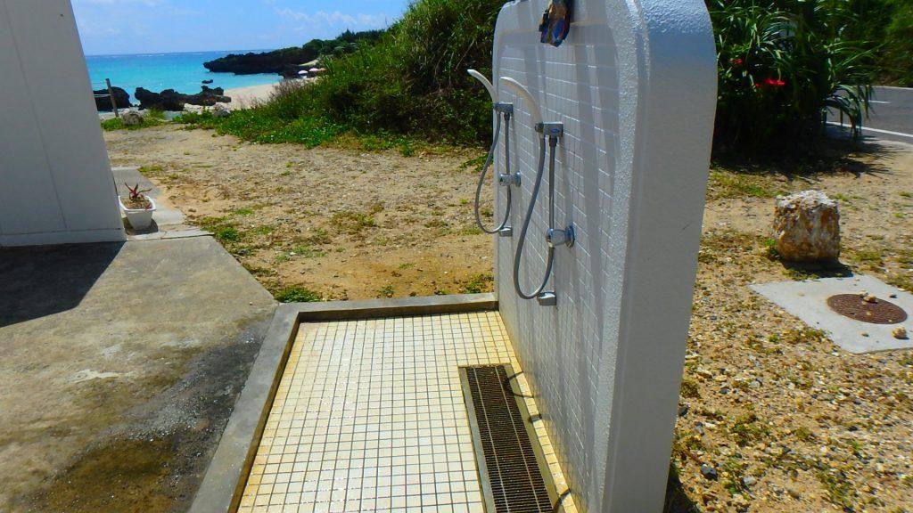 与論島 百合が浜付近のおすすめ公共シャワー