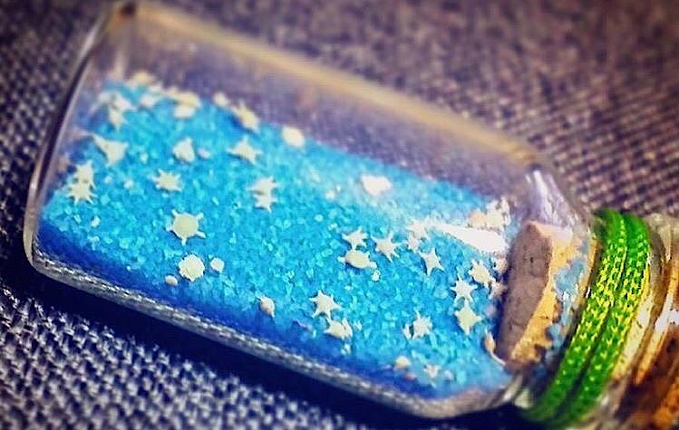 与論島おすすめお土産 百合が浜でとれる星の砂