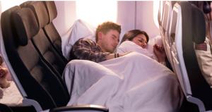 ニュージーランド航空 スカイカウチ エコノミークラス