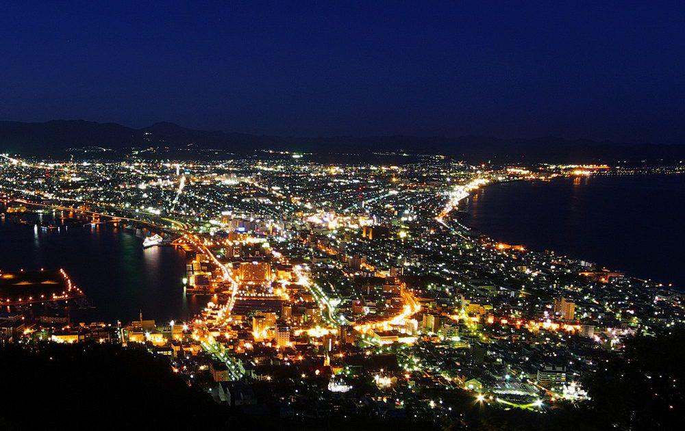 クリスマスの日本三大夜景巡り旅...