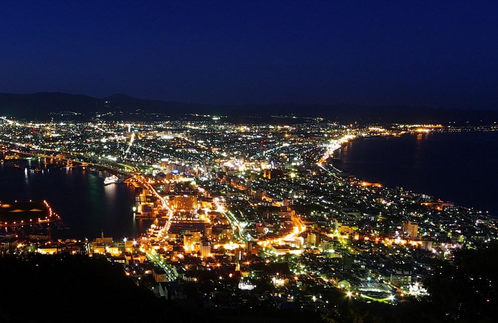 日本三大夜景 函館山