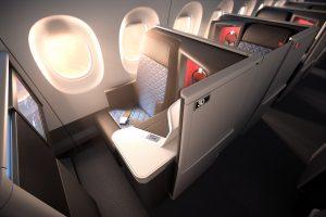 Delta Oneスイート ビジネスクラス A350