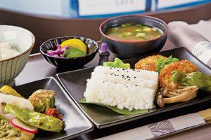 ハワイアン航空 ビジネスクラス 和食