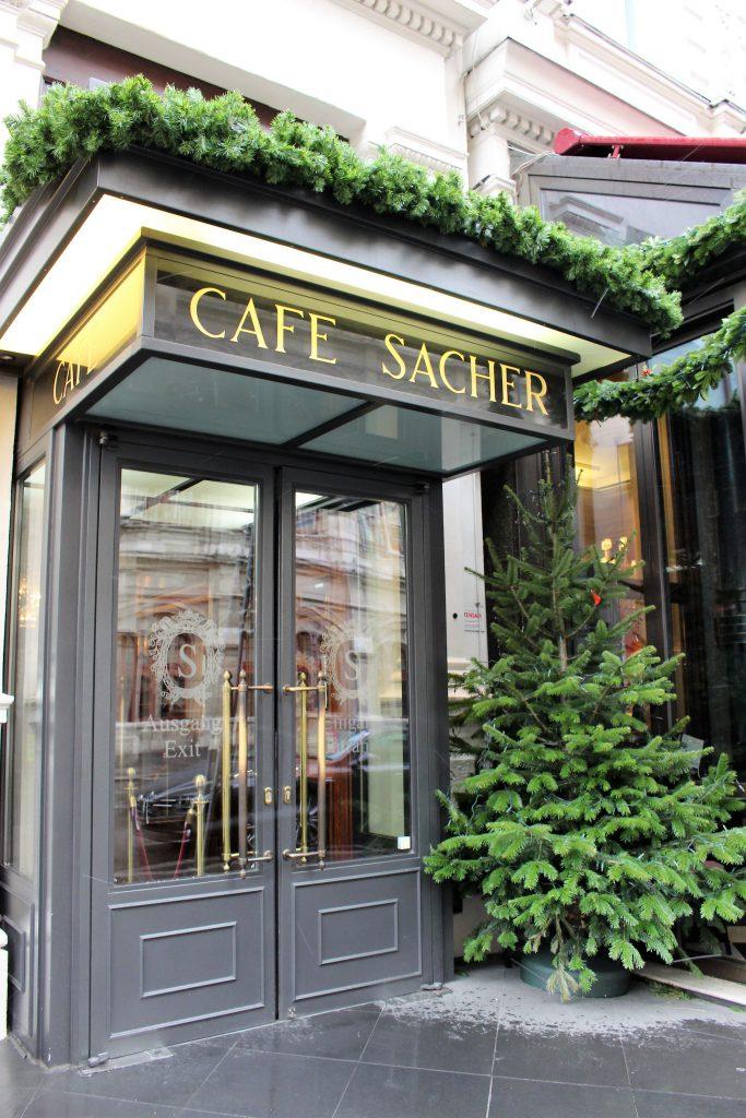 ウィーン ホテルザッハーのカフェ CAFE SACHER