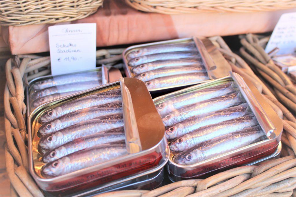 オーストリア リアルな魚のチョコ
