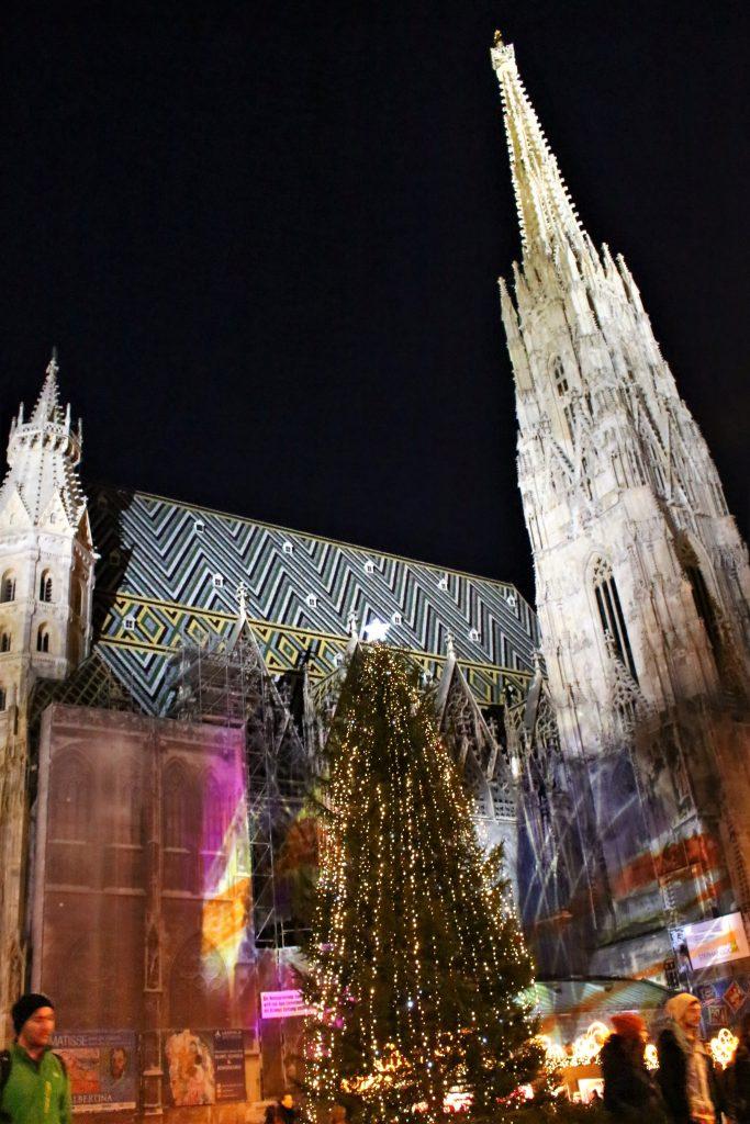 ウィーンのクリスマスが綺麗