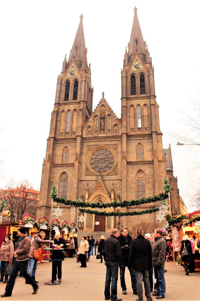 中欧チェコのクリスマスマーケット