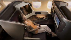 シンガポール航空 NEWビジネスクラス