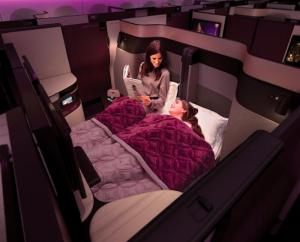 カタール航空 ビジネスクラス Qsuites