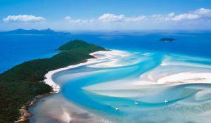 オーストラリアで一番綺麗な海 ホワイトヘブンビーチ