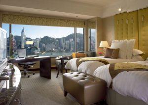 香港の九龍側 夜景が見えるホテル インターコンチネンタル
