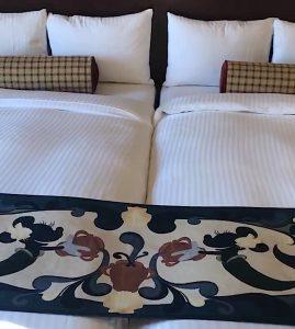 ミラコスタ スイートルーム ミッキーのベッド