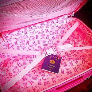 女性の台湾旅行 トランクはいらない 手荷物はリュックだけ