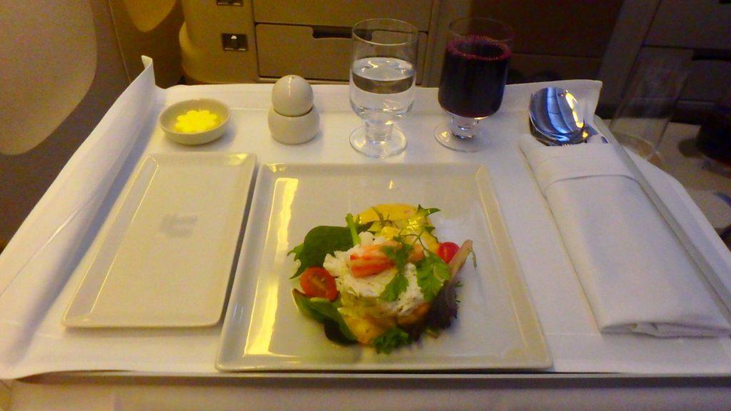 全航空会社の中で機内食が一番美味しいのはシンガポール航空