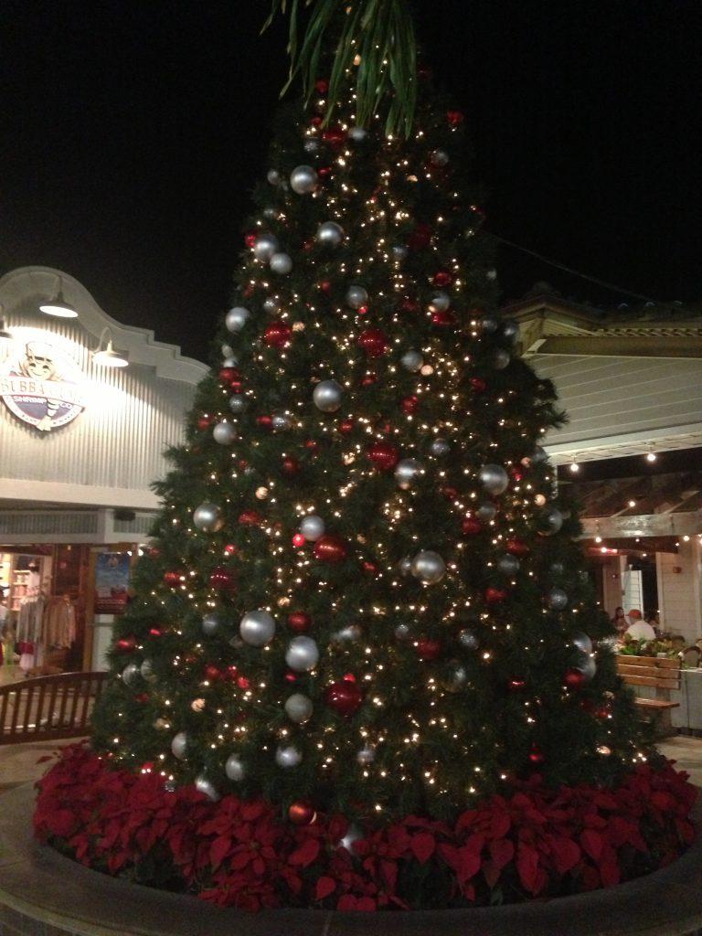 アラモアナのクリスマスツリー
