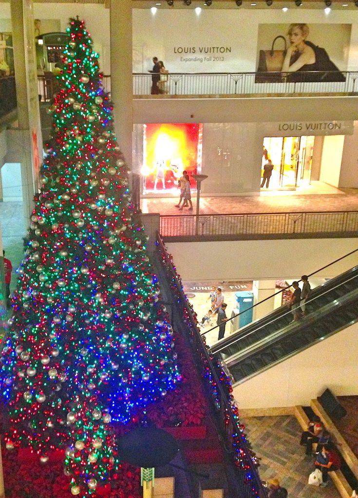 クリスマスのハワイ アラモアナショッピングセンター