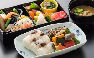 ANA ビジネスクラスの機内食 和食
