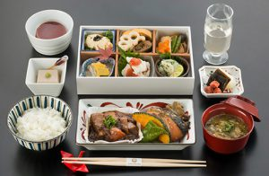 JAL ビジネスクラス 機内食 和食