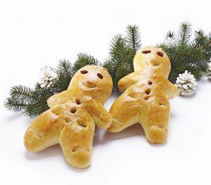スイスのクリスマスに食べる人型のパン グリッティベンヅ
