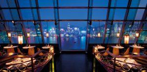 香港で一番おすすめの 夜景が見える絶景BAR Aqua