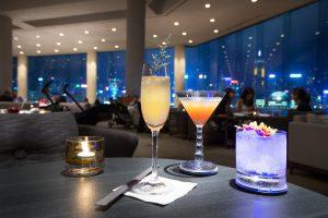 香港の100万ドルの夜景と絶景Bar インターコンチ