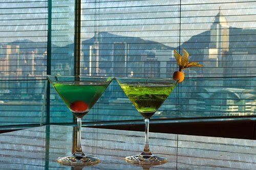 香港のサンセットと絶景Barレストラン ペニンシュラ