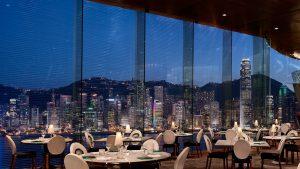 香港の夜景と絶景Barレストラン ペニンシュラ