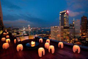 香港の夜景が見える おすすめルーフトップバー