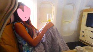 ハワイ旅行 機内での服装 女子