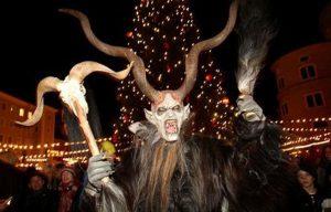オーストリアのニコラスデー クリスマスマーケット