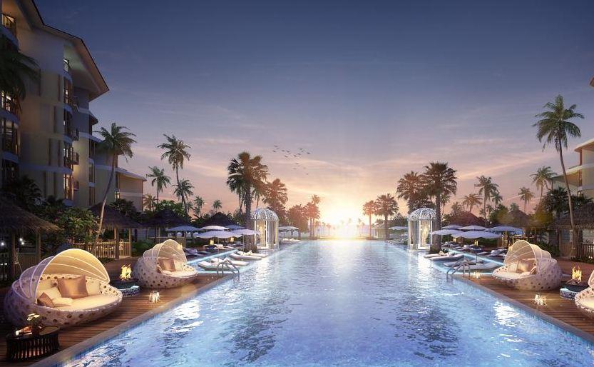 フーコック島のホテル InterContinental Phu Quoc