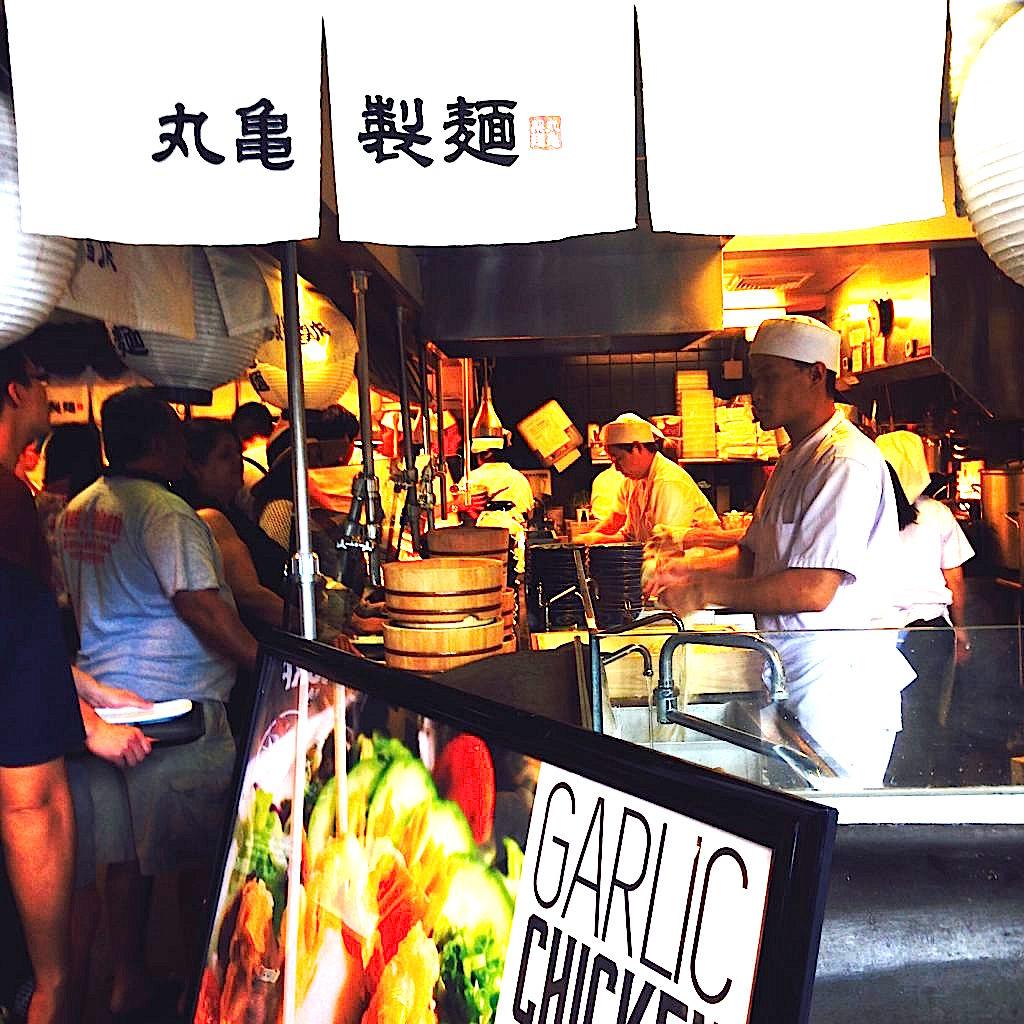 ハワイ・ワイキキで人気の日本食 うどんの丸亀製麺