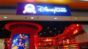 香港ディズニーチケット 香港空港のディズニーストアで