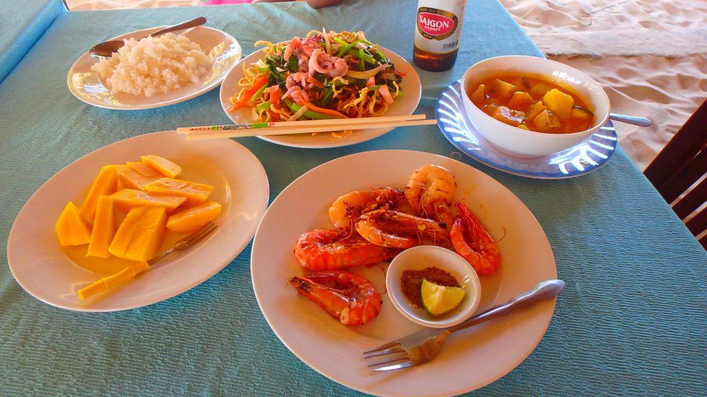 フーコック 食事 ベトナム料理