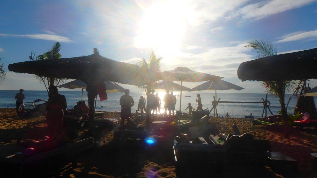 フーコック ロングビーチのサンセット