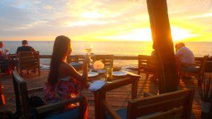 ベトナム フーコック島でのサンセットディナー