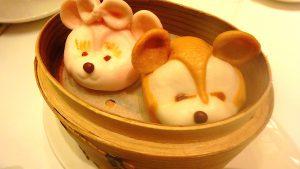 香港ディズニー ダッフィー&シェリーメイの小籠包
