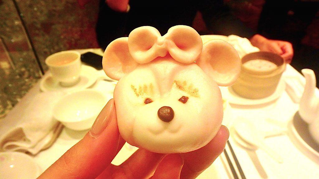 香港ディズニーのおすすめレストラン キャラクター小籠包